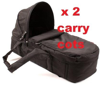 2 Carry-cots