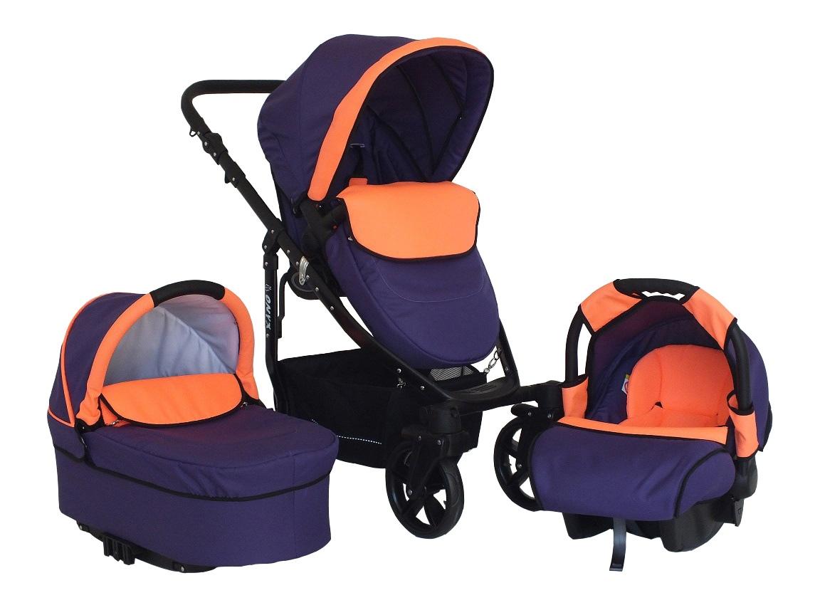 B10 Violet & Orange