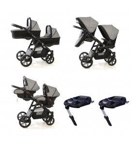 Onyx Tandem Twin Travel System 12 different combinations