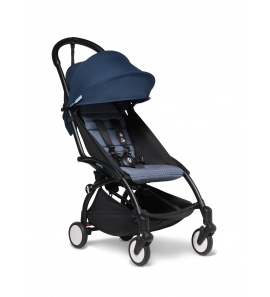 BABYZEN YOYO+ stroller Black frame & Air France colour pack 6+