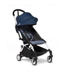 Babyzen YOYO+ stroller White frame & Air France colour pack 6+
