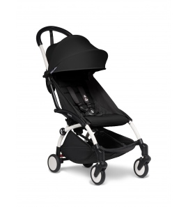 BABYZEN YOYO2 stroller White frame & Black colour pack 6+