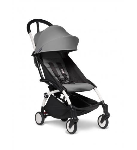 Babyzen YOYO2 stroller. Buggy from 6-36 months White/Grey