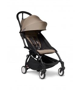 BABYZEN YOYO2 stroller Black frame & Taupe colour pack 6+