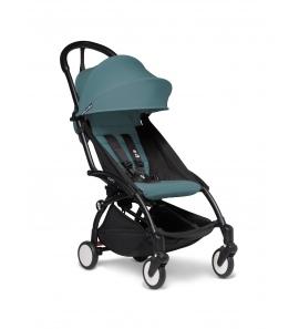 Babyzen YOYO2 stroller Black frame & Aqua colour pack 6+