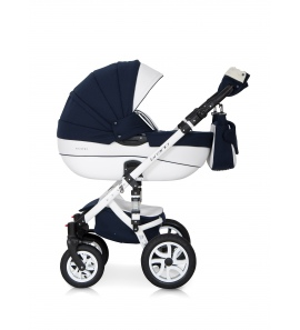 Riko Brano Ecco Leather Travel System Navy