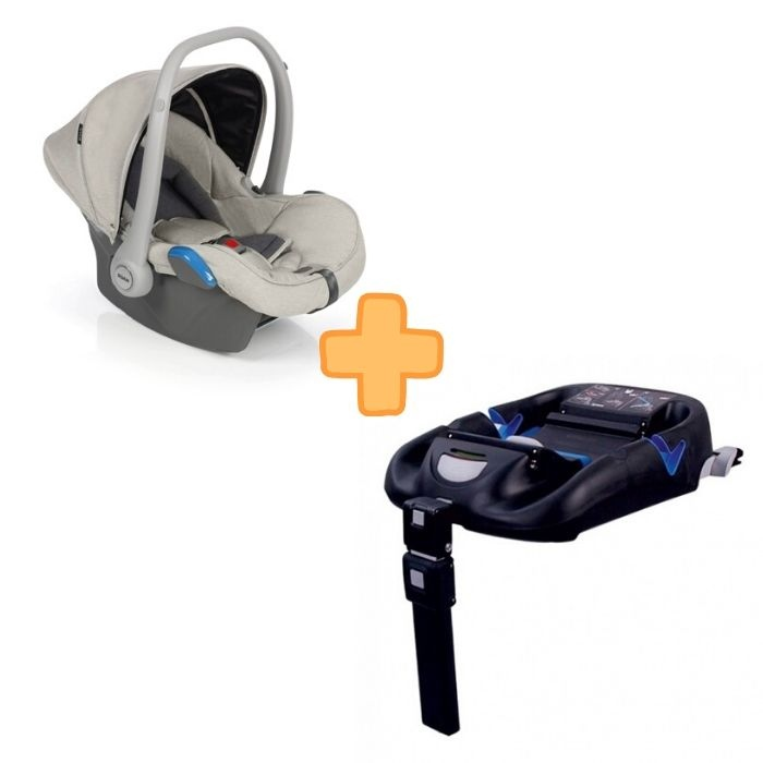 Roan Kite Beige Grey + Isofix Base