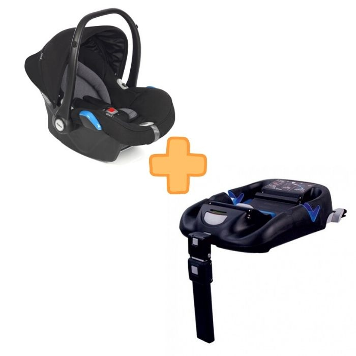Roan Kite Black + Isofix base