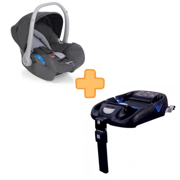 Roan Kite Graphite Grey + Isofix Base