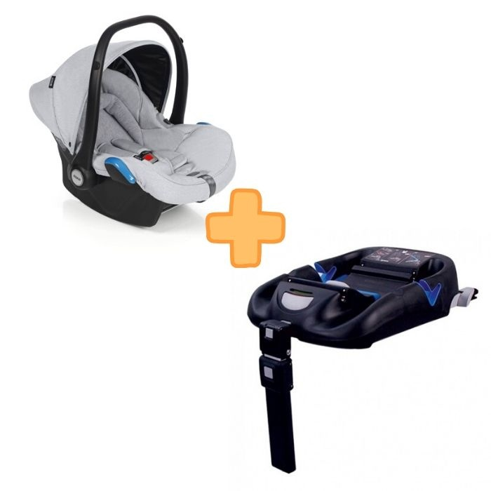 Roan Kite Silver Black + Isofix Base