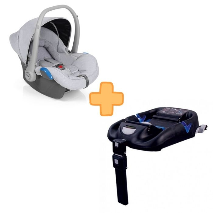 Roan Kite Silver Grey + Isofix Base