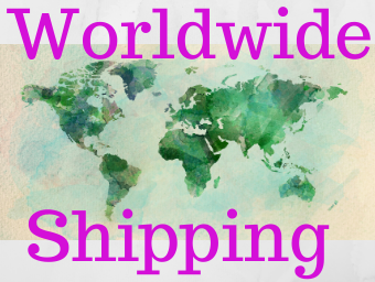 Wordwide Shipping USA Canada Australia Europe Asia TAX FREE PRICES