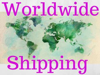 Wordwide Shipping USA Canada Australia Europe Asia TAX FREE PRICES